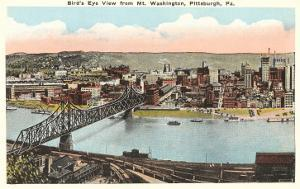 View over Pittsburgh, Pennsylvania