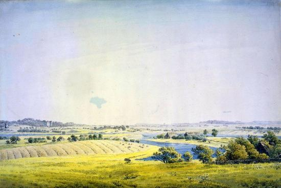 View over Putbus, 1824-1825-Caspar David Friedrich-Giclee Print