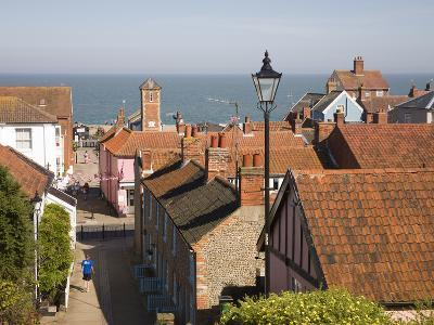 View over Rooftops to the North Sea, Aldeburgh, Suffolk, England, United Kingdom, Europe-Ian Murray-Photographic Print