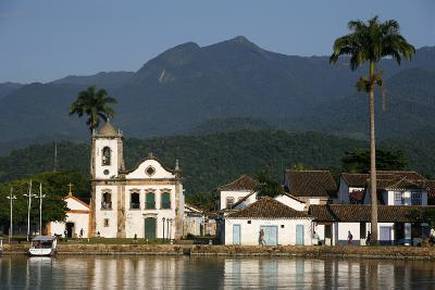 View over Santa Rita Church, Parati, Rio de Janeiro State, Brazil, South America-Yadid Levy-Photographic Print
