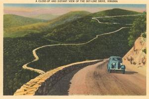 View over Skyline Drive