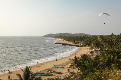 View over South Anjuna Beach, Goa, India, Asia-Yadid Levy-Photographic Print