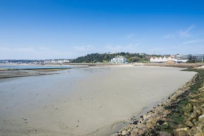 View over the Bay of St. Helier, Jersey, Channel Islands, United Kingdom-Michael Runkel-Photographic Print