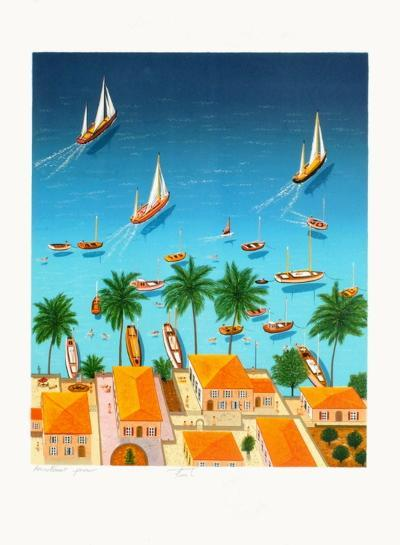 View Over the Bay-Fanch Ledan-Limited Edition
