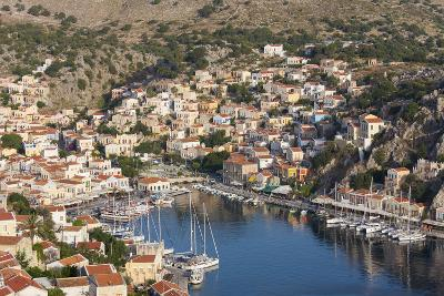 View over the Colourful Harbour, Dodecanese Islands-Ruth Tomlinson-Photographic Print