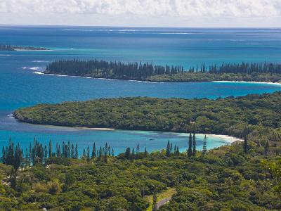 View over the Ile Des Pins, New Caledonia, Melanesia, South Pacific, Pacific-Michael Runkel-Photographic Print