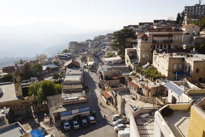 View over the Old City of Safed, Upper Galilee, Israel, Middle East-Yadid Levy-Photographic Print