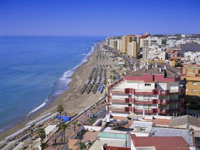 View Over the Seafront and Beach, Fuengirola, Costa Del Sol, Andalucia (Andalusia), Spain, Europe-Gavin Hellier-Photographic Print