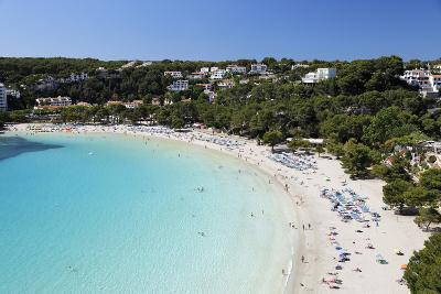 View over White Sand Beach, Cala Galdana, Menorca, Balearic Islands, Spain, Mediterranean-Stuart Black-Photographic Print