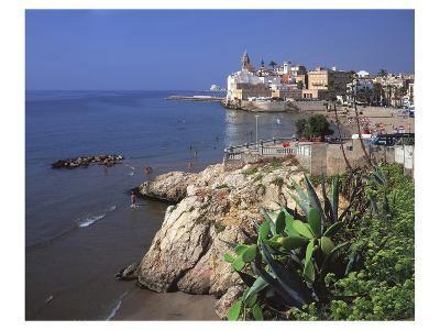 View Playa San Sebastian Spain--Art Print