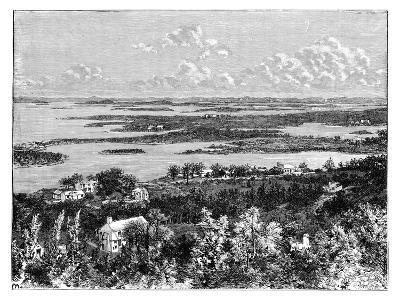 View Taken from Gibb's Hill, Bermudas, C1890--Giclee Print