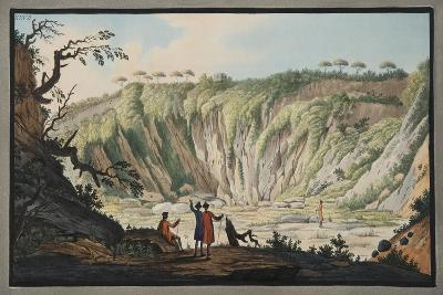 View Taken from the Bottom of the Crater of Monte Nuovo-Pietro Fabris-Giclee Print