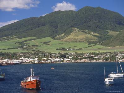 View to Basseterre, St. Kitts, Leeward Islands, West Indies, Caribbean, Central America-Ken Gillham-Photographic Print