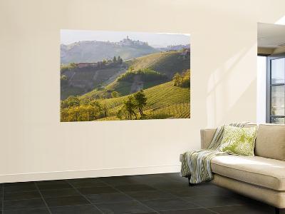 View to Serralunga D' Alba, Piedmont, Italy-Peter Adams-Giant Art Print