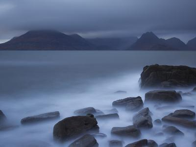 View Towards Cuillin Range from Elgol Beach. Skye, Scotland, October-Pete Cairns-Photographic Print