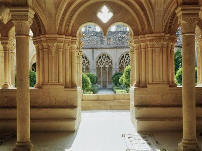View Towards the Cloister from the Chapter House, 12th-13th Century--Giclee Print