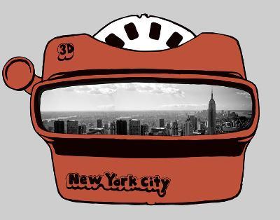 Viewmaster-Urban Cricket-Art Print