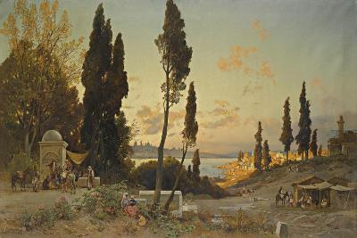 Views across the Bosphorus, Constantinople-Hermann David Salomon Corrodi-Giclee Print