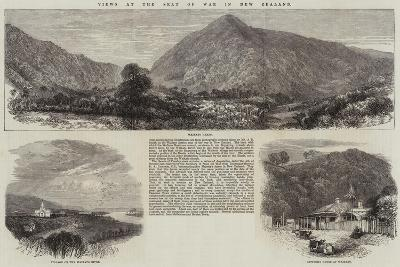 Views at the Seat of War in New Zealand--Giclee Print