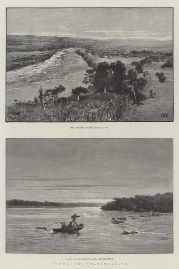Views in Amatongaland-Charles Auguste Loye-Giclee Print
