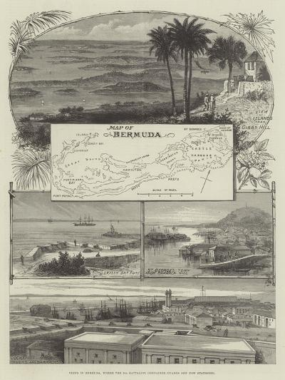 Views in Bermuda, Where the 2nd Battalion Grenadier Guards are Now Stationed--Giclee Print