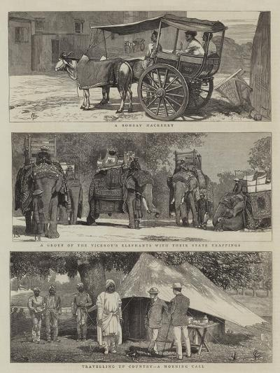 Views in India-Alfred Chantrey Corbould-Giclee Print