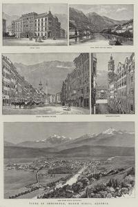 Views in Innsbruck, North Tirol, Austria
