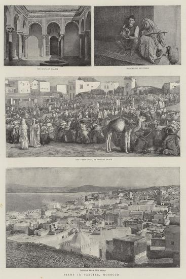 Views in Tangier, Morocco--Giclee Print