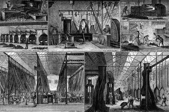 Views in the Royal Small Arms Factory, Enfield, C1880--Giclee Print