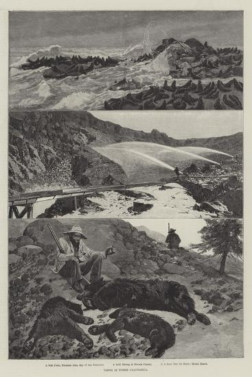 Views in Upper California-Richard Caton Woodville II-Giclee Print