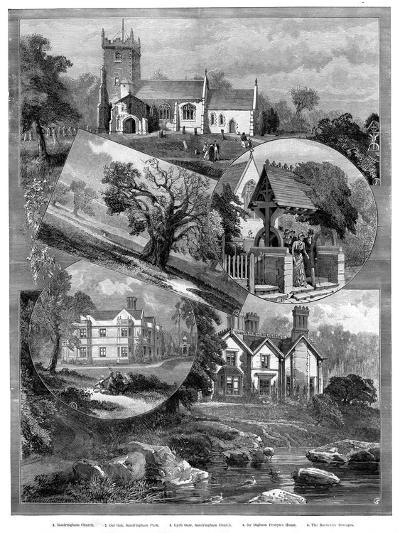 Views of Sandringham, Norfolk, 1887--Giclee Print