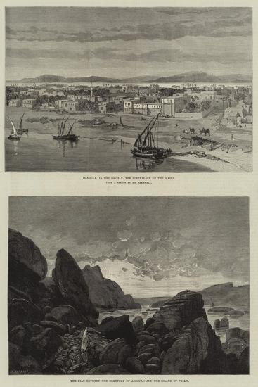 Views of Sudan-Charles Auguste Loye-Giclee Print