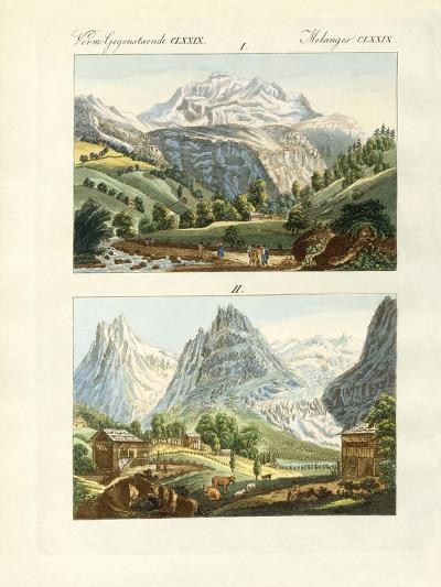 Views of Switzerland--Giclee Print