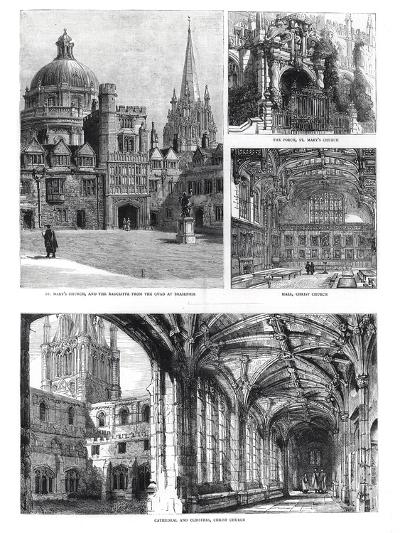 Views of the Architecture in Oxford--Giclee Print