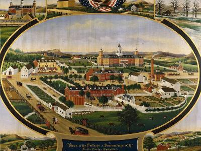 Views of the Buildings and Surroundings of the Berks County Almshouse-Rasmussen John		-Giclee Print