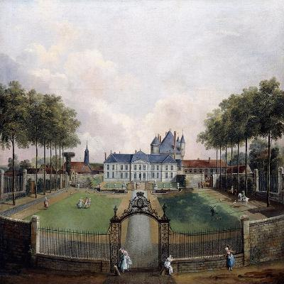 Views of the Chateau De Mousseaux and its Gardens-Jean-Francois Hue-Giclee Print