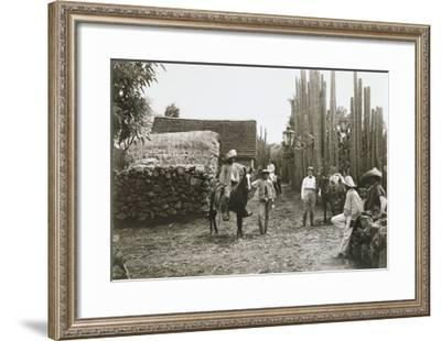 Views of the Mexican Revolution--Framed Giclee Print