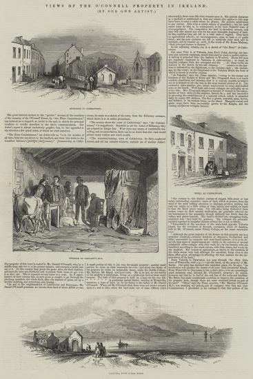 Views of the O'Connell Property in Ireland--Giclee Print