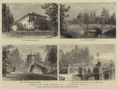 Views of the Palace of Zarskoe Selo--Giclee Print