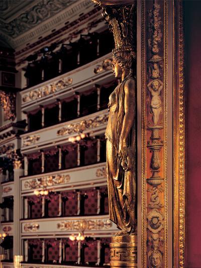 Views of the Teatro Alla Scala-Piermarini Giuseppe-Photographic Print