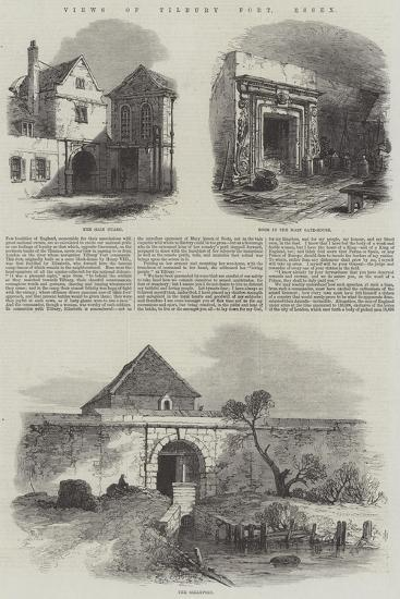 Views of Tilbury Fort, Essex--Giclee Print
