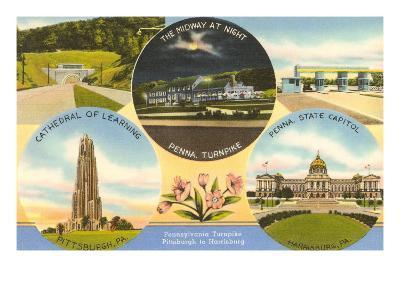 Views of Western Pennsylvania--Art Print