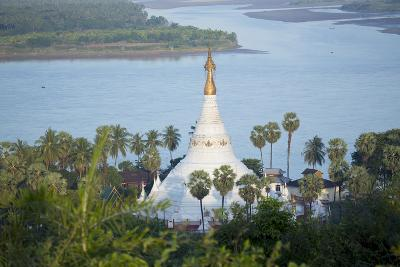 Views over the Thanlwin (Salween) River, Mawlamyine, Mon, Myanmar (Burma), Southeast Asia-Alex Robinson-Photographic Print