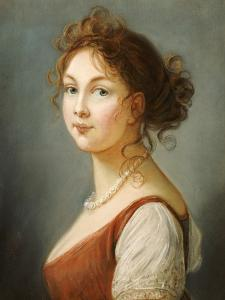 Portrait of Louisa, Queen of Prussia by Vigee-Lebrun