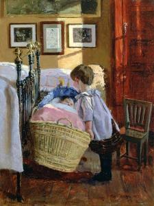 The Watchful Eye, 1889 by Viggo Christian Frederik Vilhelm Pedersen