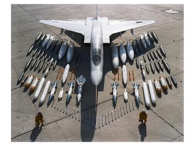 Vigilante Mach 2 bomber--Art Print