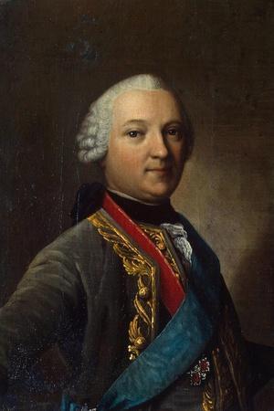 Portrait of Caspar Von Saldern, (1711-178), Middle of the 18th Century