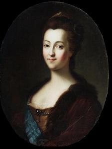 Portrait of Empress Catherine II, 18th Century by Vigilius Erichsen