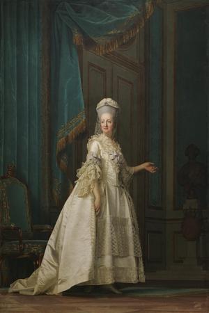 The Dowager Queen Juliane Marie of Denmark, 1776