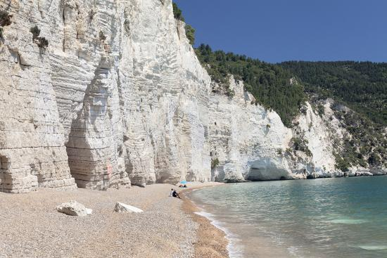 Vignanotica Bay Between Mattinata and Vieste, Gargano, Foggia Province, Puglia, Italy, Europe-Markus Lange-Photographic Print